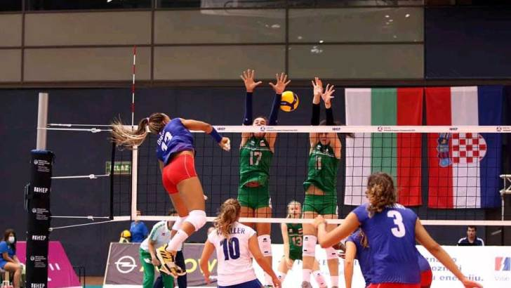 Volleyball – Euro U19 :L'équipe de Ratahiry affronte la Serbie en demies