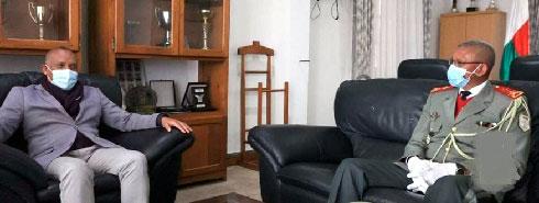 Armée : Dominique Rakotozafy part à la retraite