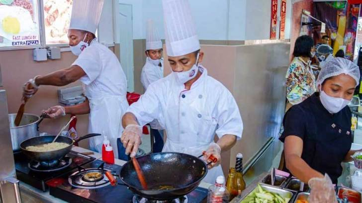 Let's Wok :La street-food au cœur de la capitale