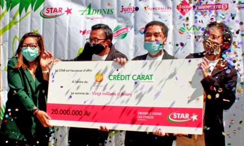 Finale du projet « Kopakelatra » : Crédit Carat remporte le financement de 20 millions d'Ariary