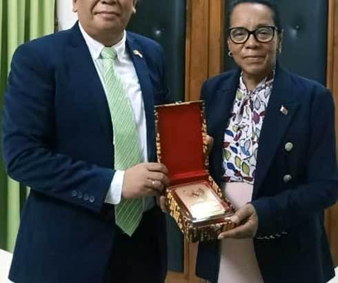 Madagascar – Indonésie :  Visite de courtoisie du nouveau chargé d'affaires de l'Indonésie à l'assemblée nationale