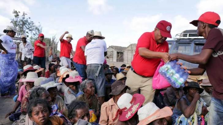 Kere dans le Sud :Les dons de Marc Ravalomanana sont distribués le jour de Noël
