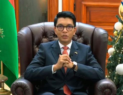 Discours de vœux : Andry Rajoelina dévoile les grands travaux pour 2021
