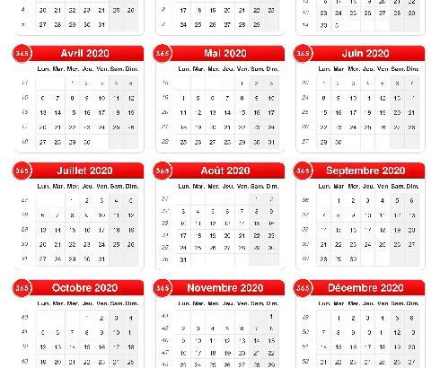 Calendrier 2021 : Cinq longs week-ends en perspective