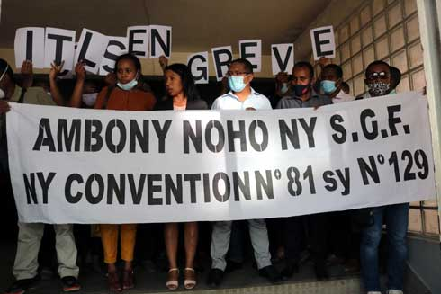 Revendication syndicale : La grève des inspecteurs du travail se poursuit