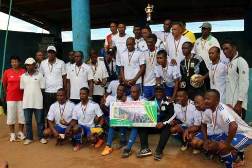 Football – Sab Nam : Manjaka Lalao et AST Tana champions