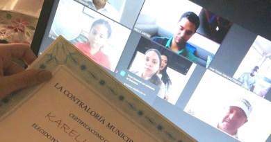 Alcalde Mello Castro posesionó de manera virtual a Contralores y Personeros estudiantiles de Valledupar
