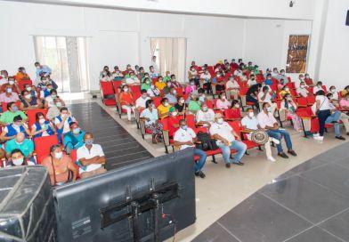 En Codazzi, víctimas recibieron respuestas a inquietudes sobre las 16 curules especiales de paz