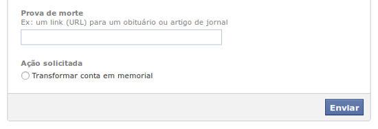 facebook solicitar memorial O que acontece com as suas informações na internet quando você morre?