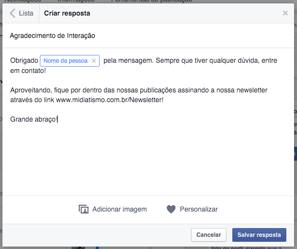 facebook-messenger-paginas-resposta-pre-definida