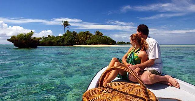 cruising in a private boat