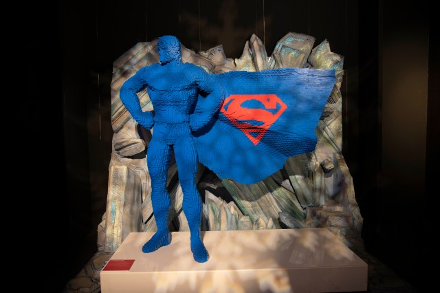 Exposição The Art of the Brick: DC Super Heroes