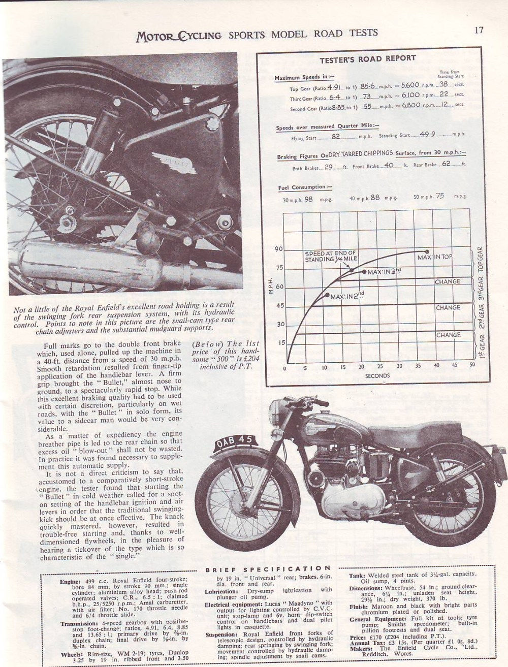 medium resolution of and of course the we need the original redditch royal enfield 500 too
