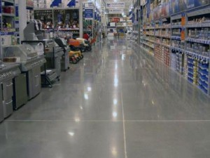concrete-floor retail