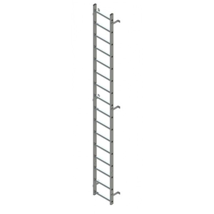 Zarges Fixed Ladder 2.09m