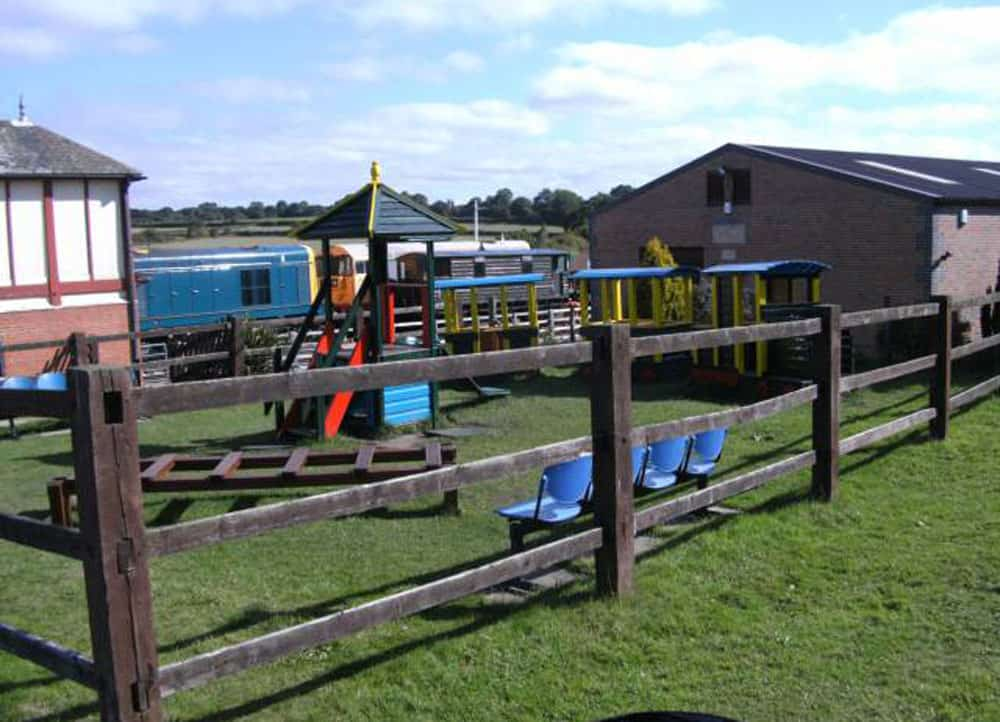 Childrens Play Area. Swanwick Junction