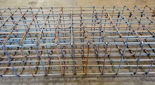Prefabricated Welded Steel Cages