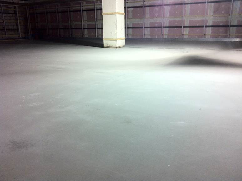 Traditional Sand  Cement Screed Floors  MSF