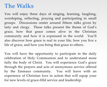 Walk To Emmaus Letters Of Encouragement Samples