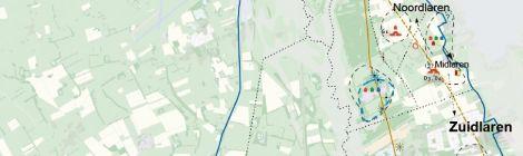 Archeologische kaart Midlaren