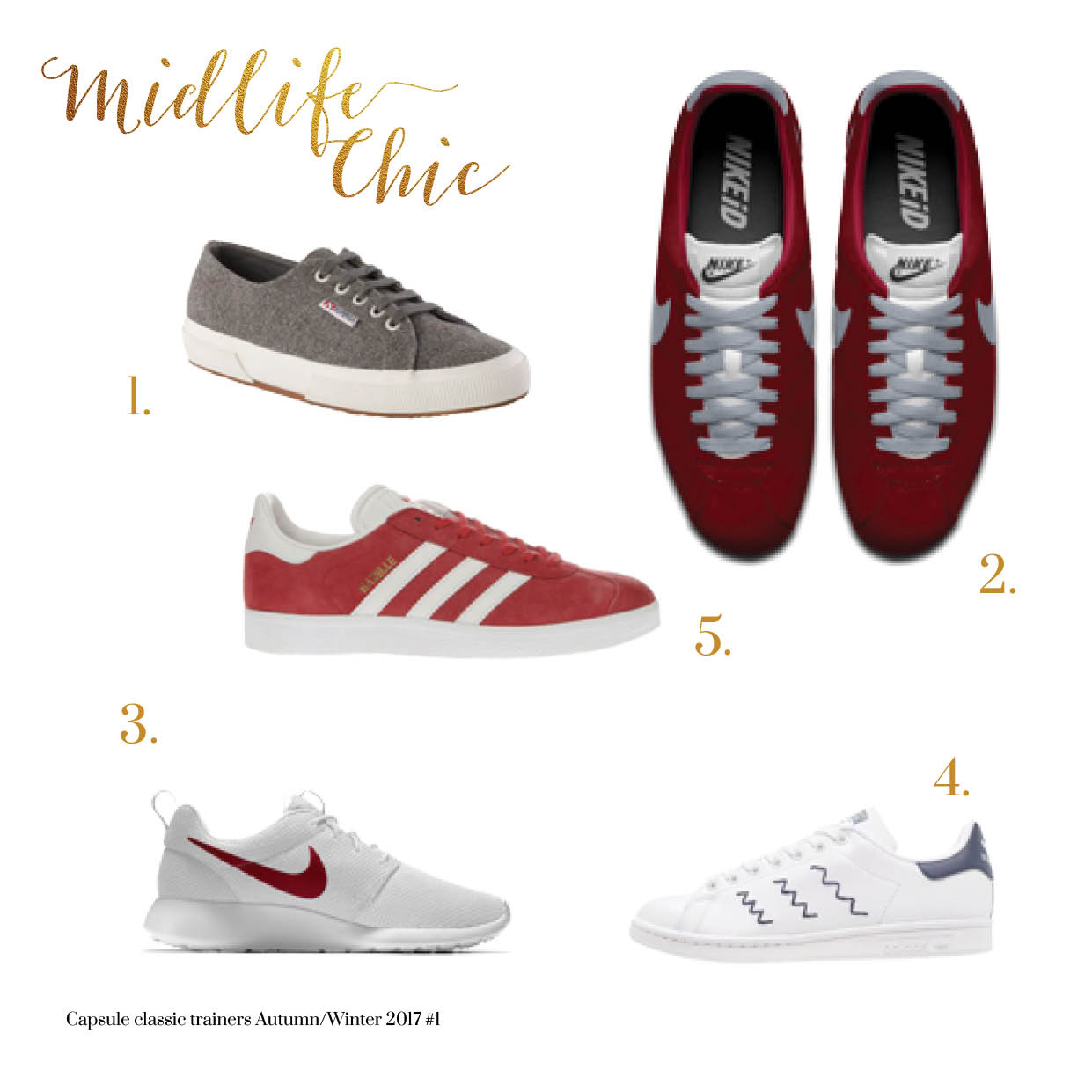 Best sporty trainers for women over 40