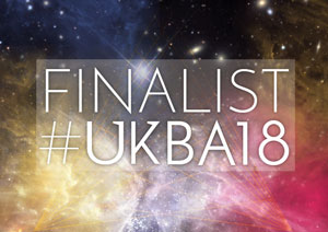 UK Blog Awards Finalist 2018