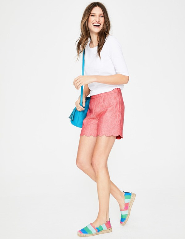Boden order - SS18 keepers and returns, scalloped shorts