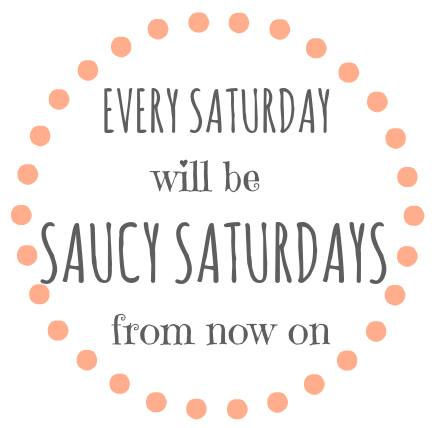 #SaucySaturdays blog hop party for recipes, crafts and DIY projects. Get linked, get social, get inspired!