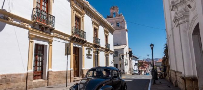 Sucre – Die weiße Hauptstadt Boliviens