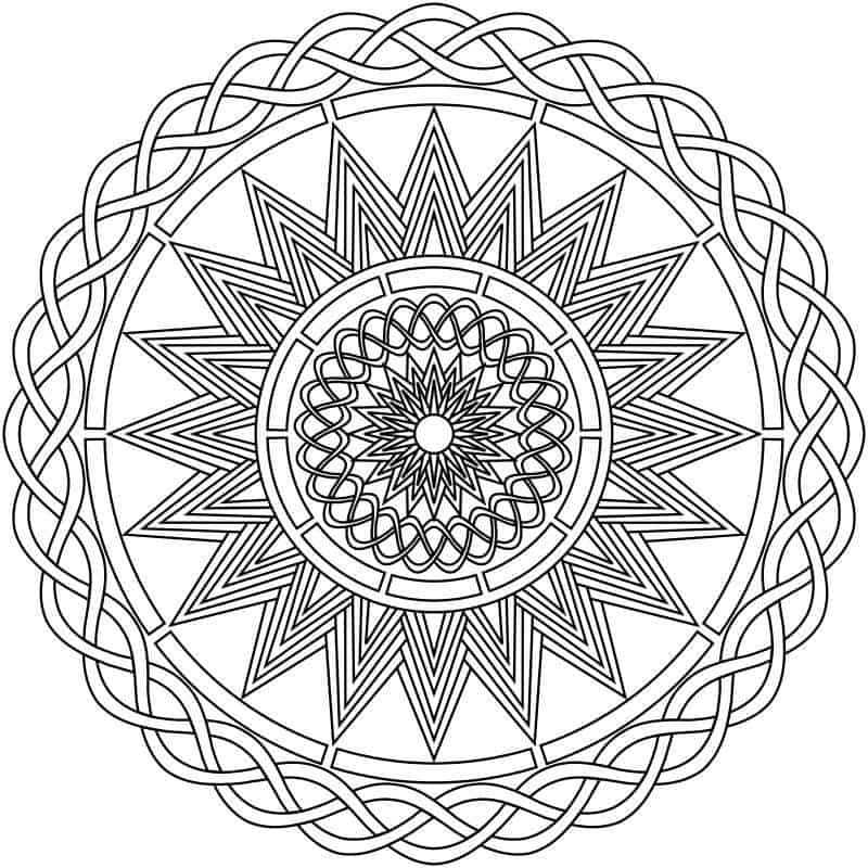 4 Free Coloring Pages for Adults