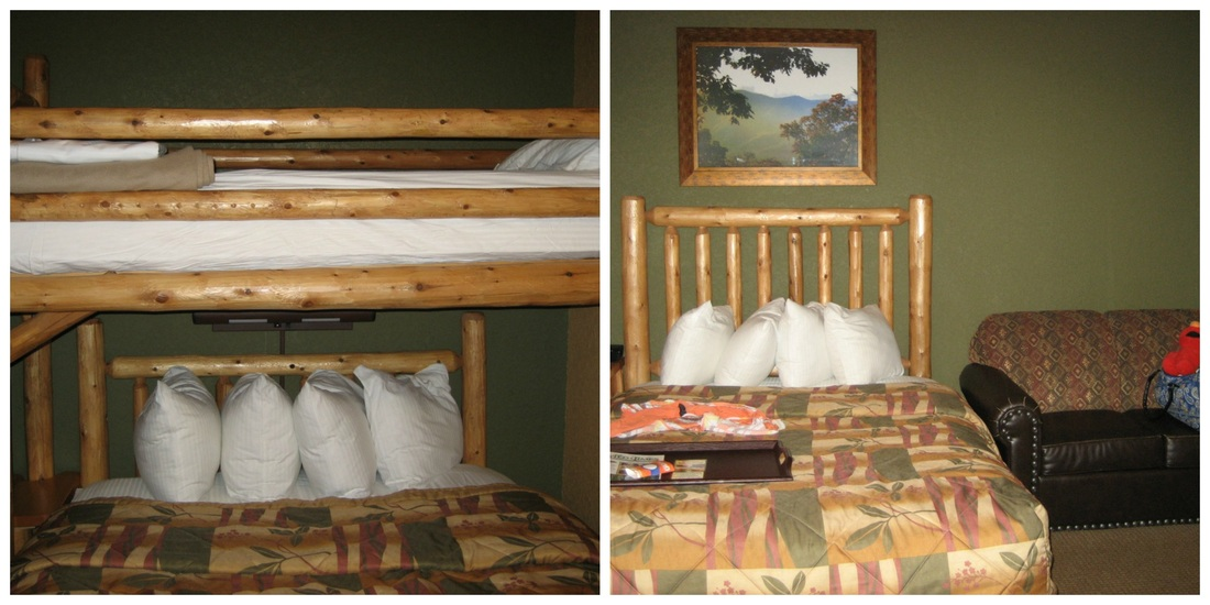 twin pull out sleeper chair ergonomic ikea tips & tricks for a fun affordable #familyvacation at wilderness the smokies