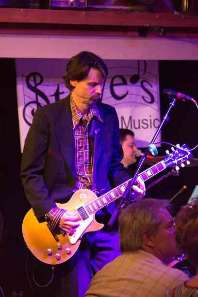 February - I had a wonderful time watching my husband's band wow a crowd