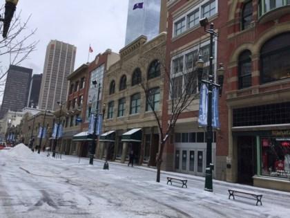 Stephen Avenue Walk in Downtown Calgary