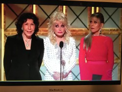 Lily, Dolly and Jane at the Emmys