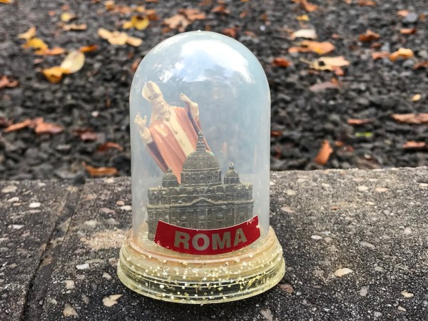 Rome Snow Globe from a Collection of Snow Globes