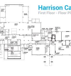 harrison campus first floor floor plan [ 3352 x 1660 Pixel ]
