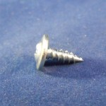 1/2 in Wafer Head Zip Screws 100pcs