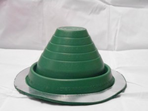Colored EPDM Pipe Boot Flashings