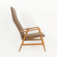 High Back Lounge Chair by Soren Ladefoged - MidMod Decor