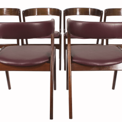 6 Dining Room Chairs Couch And Chair Covers Bed Bath Beyond Kai Kristiansen Midmod Decor