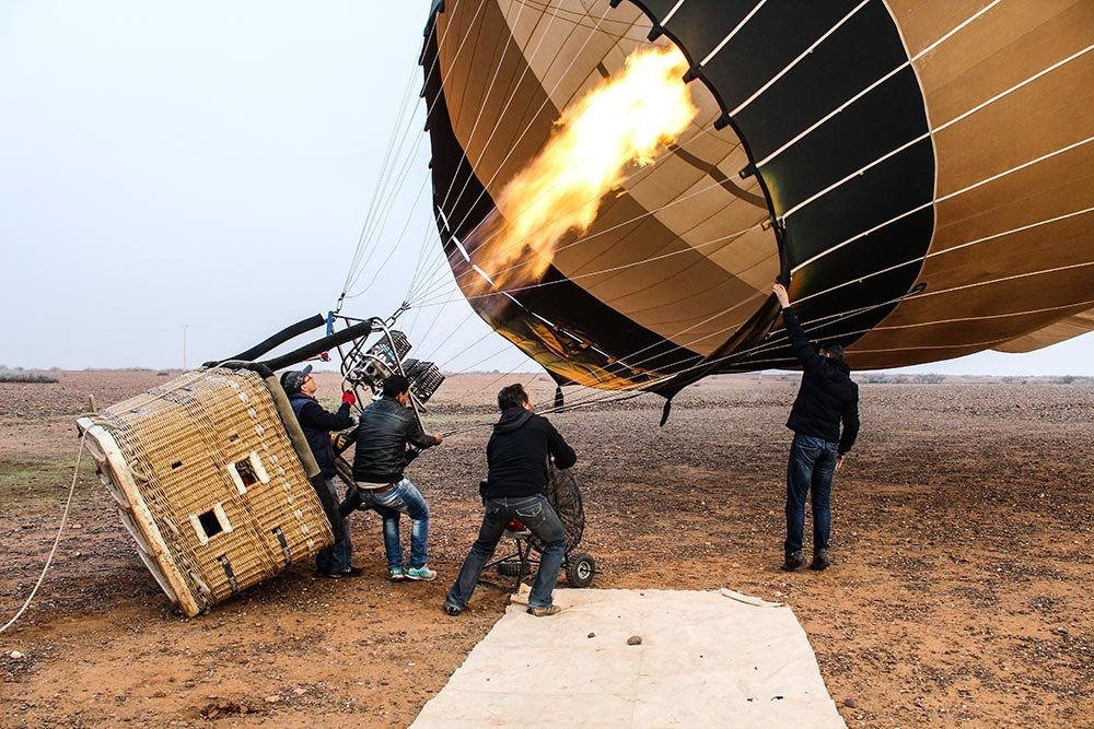 Ever wanted to get high? Here is a way, 100% legal and adrenalin inducing - take a hot air balloon ride in Morocco and jump on cloud 9!