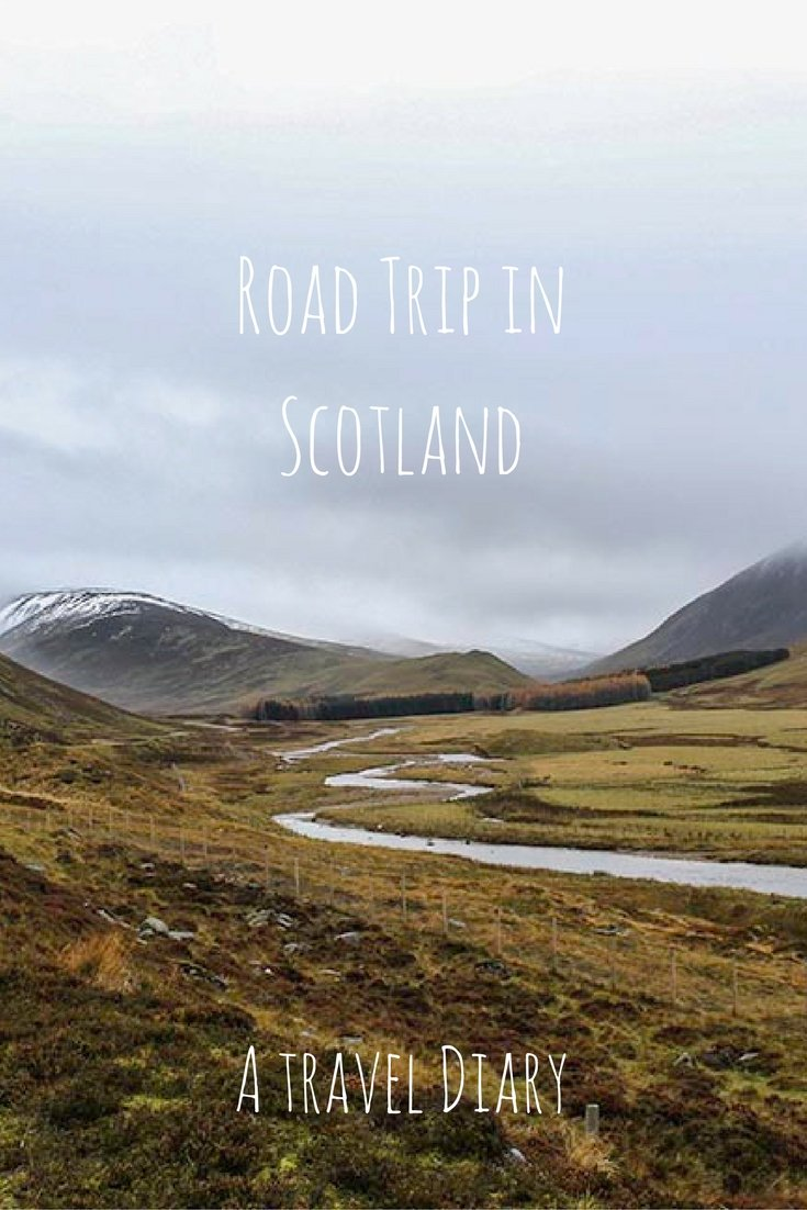 Keen for a wee road trip in the Highlands? Here is the 5 Day Scotland Itinerary - just right to taste some whisky and check what Outlander is all about. #scotland #highlands #outlander #roadtrip #edinburgh