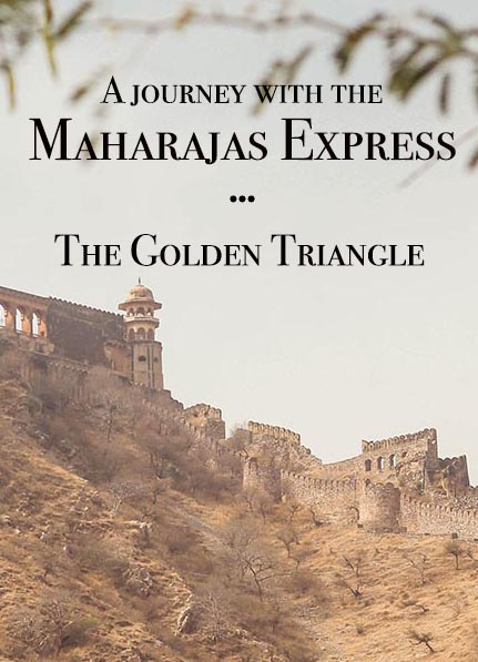 Want to experience the Golden Triangle, India? This was my second time and a very different experience thanks to a trip with the Maharajas Express, a luxury train in India. #incredibleindia #india #goldentriangle #trainjourney