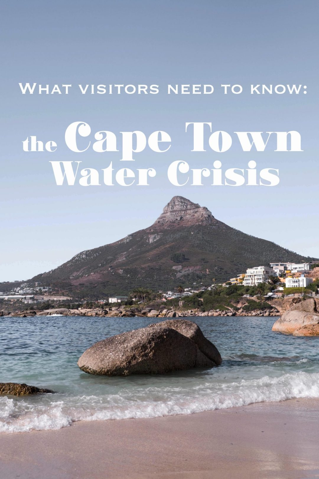 Updated post: What do visitors need to except when coming to South Africa during the current Cape Town water crisis in 2019. Tips and inside information on what to do and expect. #cityofcapetown #visitsouthafrica #thisisafrica #southafrica