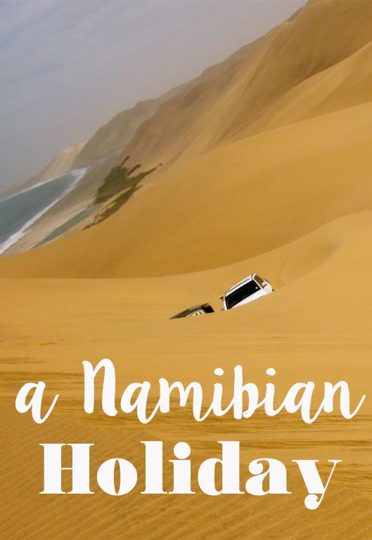 Planning a trip to Namibia? Read this first for an honest and somewhat funny account on how NOT to spend New Year's eve & holidays in Namibia. #namibia #walvisbay