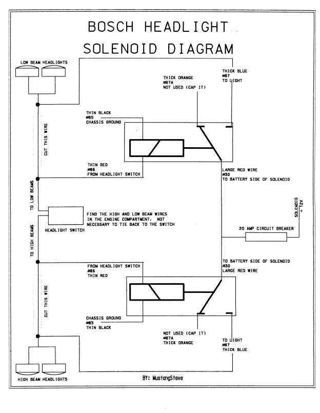 mopar starter relay wiring diagram 110 volt thermostat headlight issues on 72 charger - forums