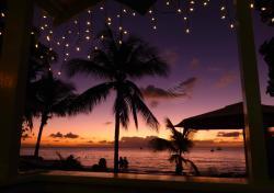 Caribbean sunset, barbados sunset, holetown sunset, sunset, holetown, surfside beach bar, barbados west coast, platinum coast
