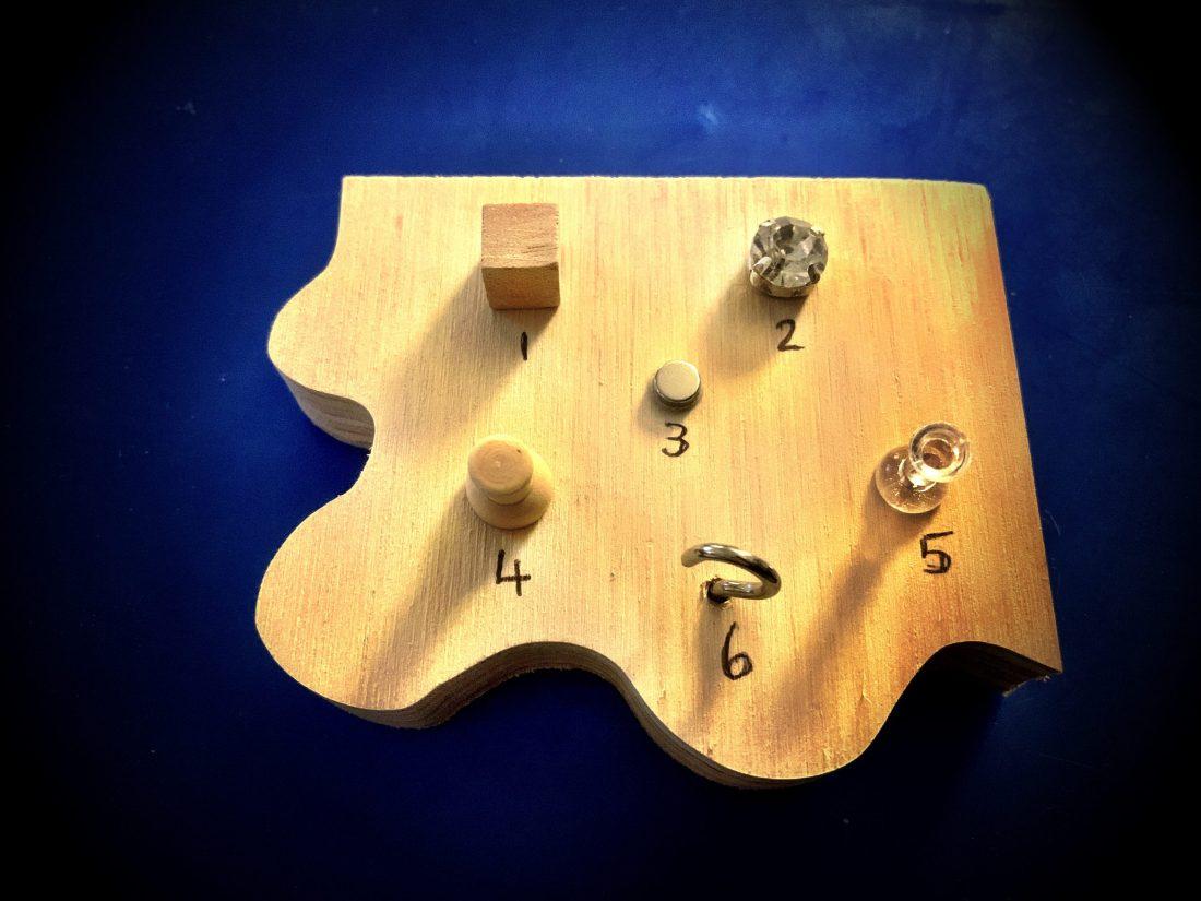 Chunky Jigsaw - 2=Diamante Dexterity Embellishments