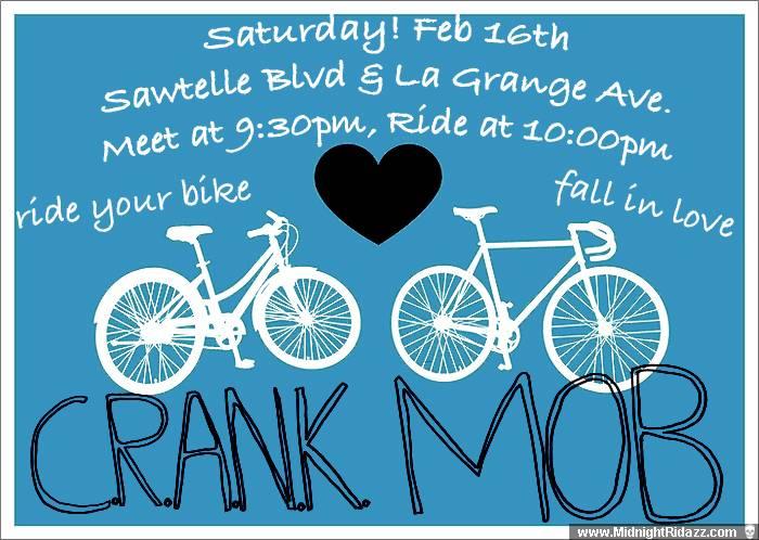 CRANk MOb, February 16th!