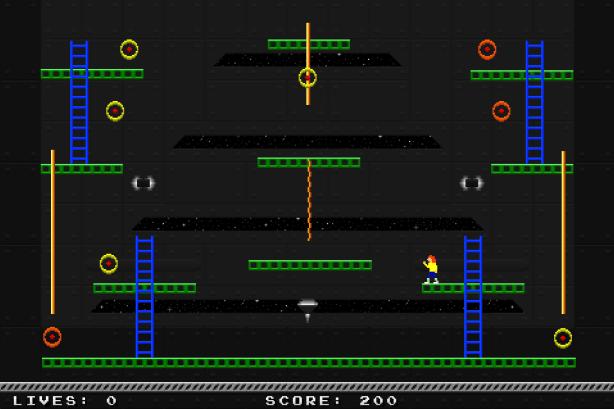 Jumpman Forever - Saturn Station 1.  I Still hate the run animation.